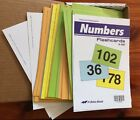 ABeka Number FLASHCARDS 1 200 Preschool Kindergarten 151394 A Beka Book Cards