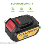 18V 4000mAh Li-ion Battery for DEWALT DCB200 DCB182 DCD780 Cordless Drill Driver
