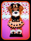 Party Girl Mulberry Tear Bears Scrapbooking Cards Banners Marystearbears 8