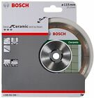 115mm Bosch 2608602368 Extraclean Diamond blade disc ideal for cutting porcelain