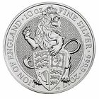 Daily Deal - 2017 U.K. 10 Pound Silver Queen's Beast Lion .9999 10 oz BU in Caps