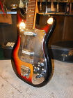 Vintage Stradoli Guitar Teisco Made In Japan Plays Great