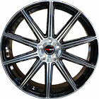 4 GWG WHEELS 18 inch Black MOD Rims fits BUICK PARK AVENUE 2000 2005