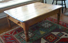 ANTIQUE PINE COFFEE TABLE (not a reproduction)