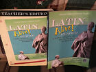 Latin Alive 4 Reader and Teacher Edition complete