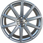4 GWG WHEELS 20 inch STAGGERED Silver MOD Rims fits INFINITI Q50 S 2014 2017