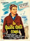 400 BlOWS 1959 French 23x32 poster Francois Truffaut LES COUPS filmartgallery