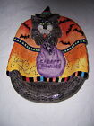 FITZ AND FLOYD KITTY WITCHES CANDY DISH