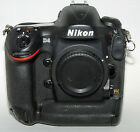 Nikon D D4 162MP Digital SLR Camera Black Body Only
