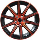 4 GWG WHEELS 20 inch Red MOD Rims fits NISSAN ALTIMA COUPE 2008 2009
