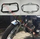 Highway Engine Guard Crash Protector bars for Honda CB400SS Chrome/Black