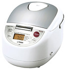 Rice Cooker with Slow Cooker Food Steamer and 10 Cup Microcomputer Controlled