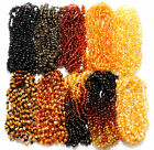 Baltic Amber Baby Necklace Wholesale Genuine 11 Colors Lot of 10 Natural Beads
