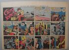Miss Cairo Jones Sunday by Bob Oksner from 9 30 1945 Half Page Size Full Color