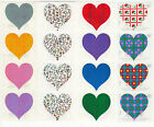 Vintage Mrs Grossman Heart Stickers By The Yard Scrapbook All or You Choose