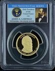 PCGS Presidential Series 2011 S James Garfield 1 PR69DCAM One Dollar Coin
