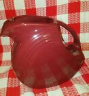 Fiestaware Large Disc water juice Pitcher HLC Retired Cinnabar Carrafe NOS New