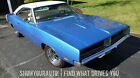 1969 Dodge Charger B5 Blue 1969 Dodge Charger R T426Manual Floor Shift for sale