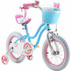 Royalbaby Stargirl Girls Bike with Training Wheels and Basket Perfect Gift fo