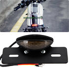 12V LED Rear Brake License Plate Tail Light For Cafe Racer Custom Motorcycles US