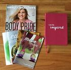 BRAND NEW WEIGHT WATCHERS JOURNAL MAGAZINE  BEYOND THE SCALE BOOKLETS