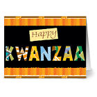24 Holiday Note Cards Happy Kwanzaa Green Envs