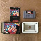 SUPER PUNCH OUT COMPLETE IN BOX SUPER NINTENDO SNES CIB FREE SHIPPING