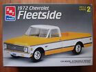 NOS 1995 AMT ERTL 1972 Chevrolet Fleetside pickup truck 1:25 plastic model kit