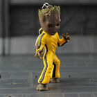 Guardians Galaxy Vol2 Baby Groot 3 Key Chain Figure Statue Toy Bruce Lee Style