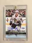 2015-16 UD Buybacks Autograph Teuvo Teravainen SSP Rookie Card 86 Whit C.O.A.!!