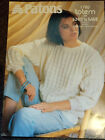 Womens Textured Sweater vintage knitting pattern 8 ply DK yarn