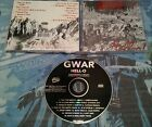 GWAR - HELL-O! CD OOP METAL BLADE x-cops rigor mortis
