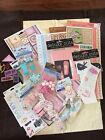 Little Girl Sticker Embellishment Lot