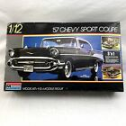 57 Chevy Sport Coupe Monogram 1:12 3 n 1 Plastic Model Kit 2800 Discontinued Car