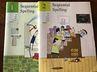 Sequential Spelling Books 1 and 2 Set Homeschool Curriculum Elementary