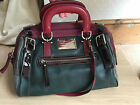 Dolce  Gabbana Rare Handbag Leather Suede RRP 1995 REDUCTION