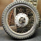 YAMAHA DT50 DT80 GT50 GT80 USED  REAR WHEEL ASSEMBLY / USED REAR WHEEL