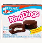 Drake's Ring Dings 10 Cakes 14 Oz