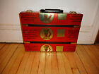 Womens Hand Made 1 Of A Kind  Original Aluminum Briefcase From Tomato Paste Cans