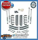 Pro Comp K3076B 4 4 LIFT Stage I Short Arm Kit w ES Shocks for 03 06 Jeep TJ