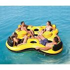 Summer Toy Inflatable Pool Lounger Float Tube Swimming 4 Person Water River Raft