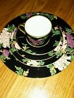 FITZ & FLOYD CLOISONNE PEONY 5 PIECE PLACE SETTING