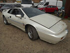 1989 LOTUS ESPRIT TURBO DAMAGED REPAIRABLE SALVAGE COMMEMORATION MODEL