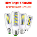 E27 E14 G9 B22 7W 9W 12W 15W 20W 25W 5730 SMD LED Corn Bulb Lamp Light 110V 240V