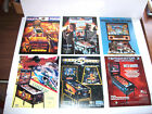 Lot Of (6) ORIGINAL PINBALL MACHINE Flyers POLICE FORCE BAD CATS T3 DM set #6