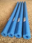 Lot 4x Blue Pool Noodles Foam Swimming therapy water floating craft