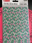 Decoupage Paper New 3 Sheets Per Pack MAKE Market Craft NEW Floral Green NEW
