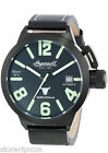 INGERSOLL IN8900BBK Bison No 6 Black with Green Accents Watch NEW! FAST SHIP!