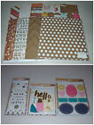 Crate Paper Craft Market Kit Specialty Paper Stickers  Embellishments