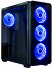 VIVO ATX Mid Tower Computer Gaming PC Case 6 Fan Ports 3 speed control USB 30